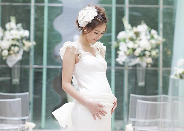 妊婦さんでも無理のないように!思い出に残る結婚式を挙げましょう!のサムネイル画像