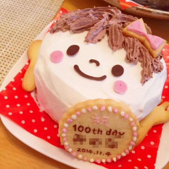 とってもかわいい♡手作りお食い初めケーキのレシピをご紹介しますのサムネイル画像