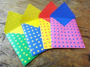 折り紙で封筒を作ってみよう!自分好みの可愛いものが出来ます♪のサムネイル画像