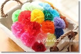 折り紙カーネーションで花束を作ろう!立体から平面まで色々♪のサムネイル画像