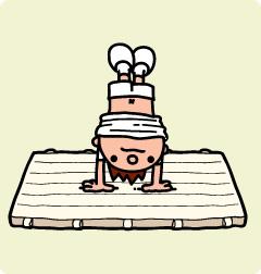 子供にとって良い事だらけ!積極的にマット運動をさせてあげよう!のサムネイル画像