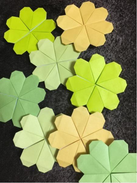 日本に生まれたすばらしい折り紙の文化!折り紙でクローバーを折るのサムネイル画像