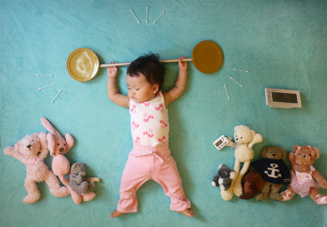 思わず笑っちゃう!果てしなく可愛い!赤ちゃんの寝相を見てみようのサムネイル画像