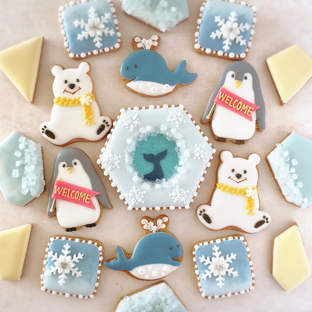 【プレゼントしたい♡】可愛いアイシングクッキーのデザインアイデア集のサムネイル画像