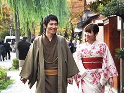 京都きものパスポートを使って、着物デートを満喫しましょう!のサムネイル画像