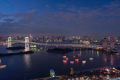 カップルで絶対行きたい 東京の夜景デートの最強スポットはここ!のサムネイル画像