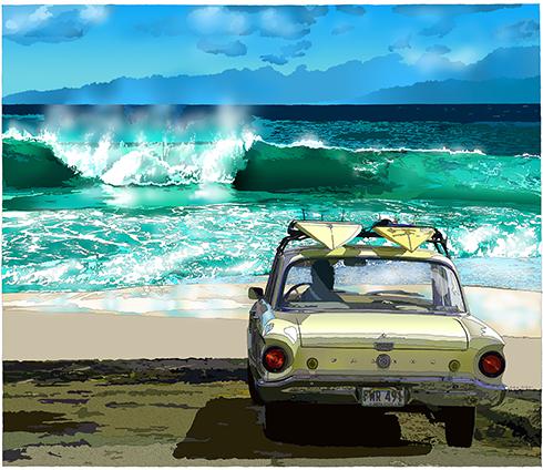 憧れのサーフィンデビュー!車で楽しく安全に海へ出かけよう!のサムネイル画像