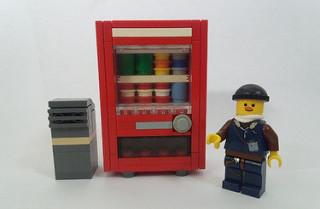今レゴ(LEGO)が熱い!えっ!レゴで自動販売機が作れちゃう!?のサムネイル画像