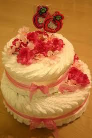 出産祝いに大人気☆ママから人気のおむつケーキをまとめました☆のサムネイル画像