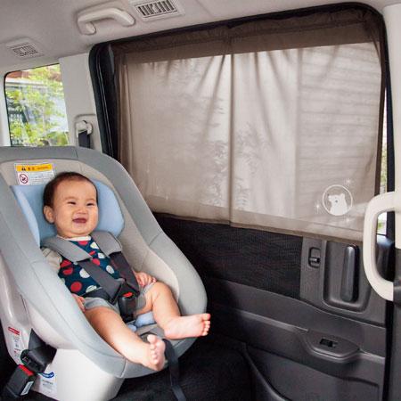 赤ちゃんを紫外線から守ろう!チャイルドシートの日よけ対策のサムネイル画像