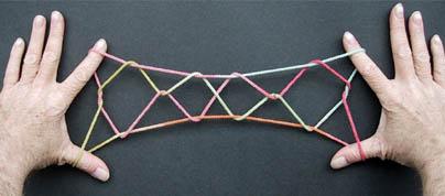 大人にとっては懐かしすぎる!あやとりのはしごを作ってみよう☆のサムネイル画像
