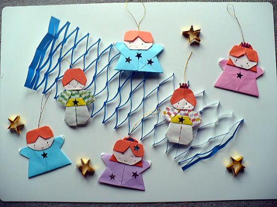 彦星様と織姫様に願いを込めて!!折り紙で作る楽しい七夕飾り!!のサムネイル画像