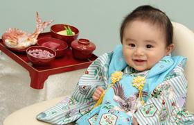 赤ちゃんのお食い初め☆赤ちゃんやパパ・ママはどんな服装?のサムネイル画像