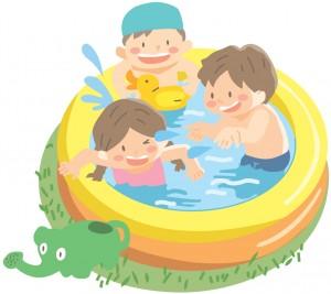 子供の水遊びはいつから大丈夫?水遊びさせる時の注意点とは?のサムネイル画像