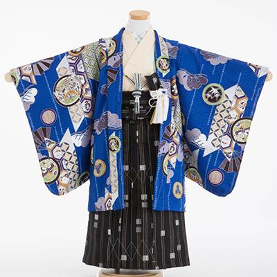 かっこいい!有名人プロデュースの袴も!男の子の七五三袴写真!のサムネイル画像