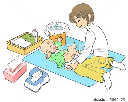 パパもママも必見!これでばっちり☆赤ちゃんのオムツ替え!!のサムネイル画像