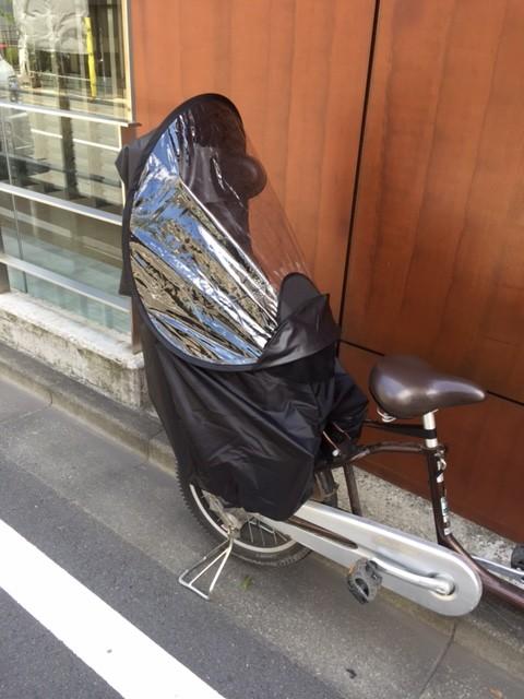 空間が広くてオススメの自転車のチャイルドシートレインカバー!のサムネイル画像
