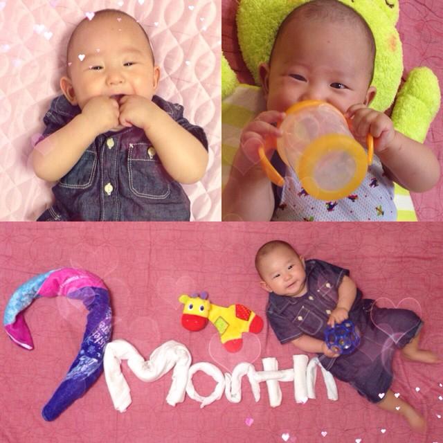 生後七ヶ月の赤ちゃんってどんな時期?気になる点をまとめました!のサムネイル画像