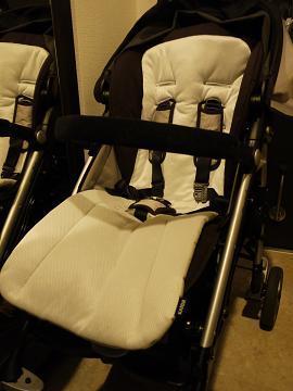 ベビーカーのクッションで赤ちゃんをもっと快適にしましょう!のサムネイル画像